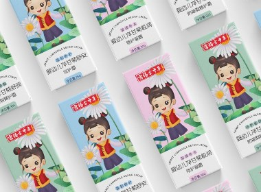 兒童護膚品包裝設計