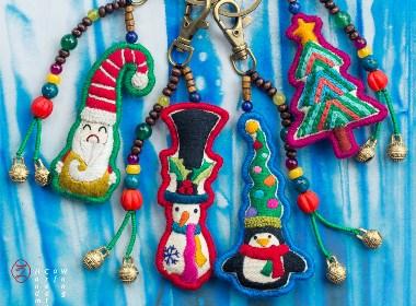圣诞系列 钥匙扣/项链