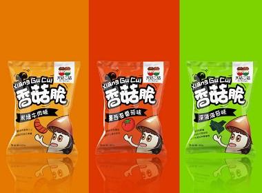 果蔬脆产品包装设计【黑马奔腾创意出品】