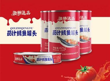 惟喬品牌設計——茄汁鯖魚罐頭包裝設計  威海包裝設計 魚罐頭包裝設計 罐頭包裝設計