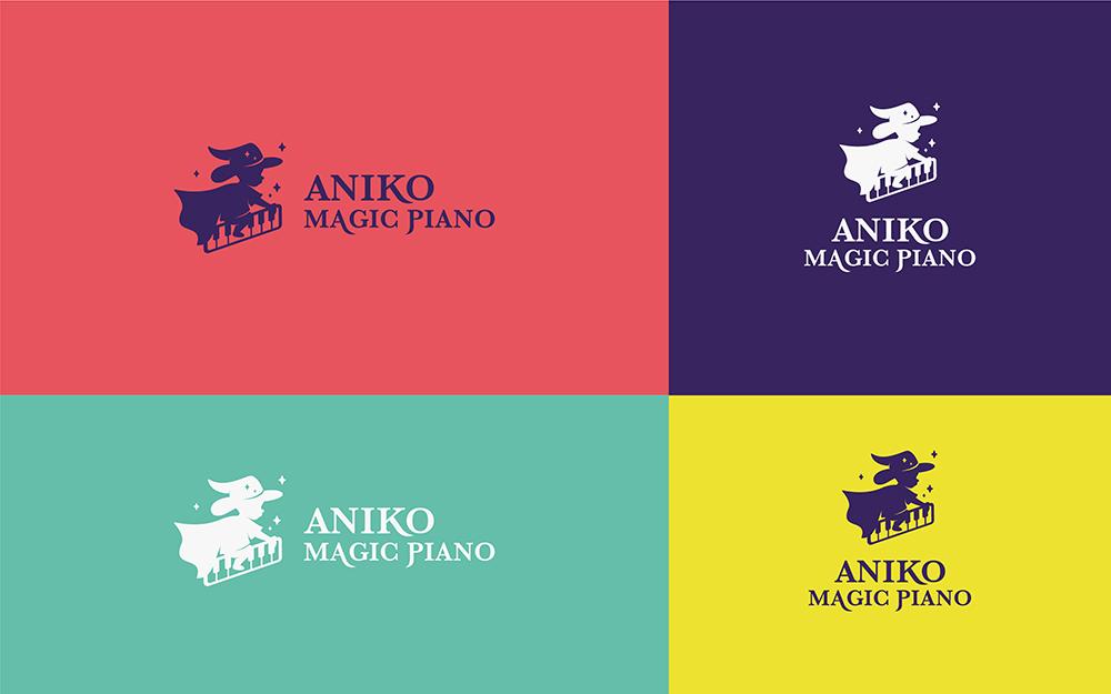 安妮卡魔法钢琴,VI设计,吉祥物设计