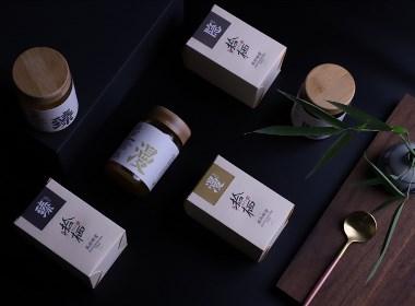 拾棲-森林蜂蜜包裝設計