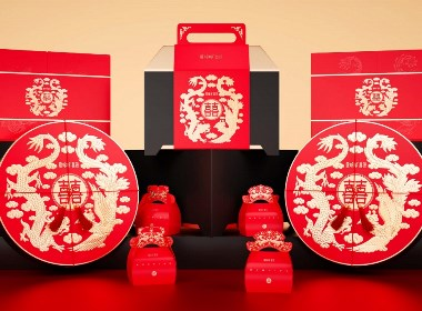 高鹏设计——爱哆哆喜饼食品包装设计