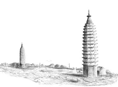 拜口寺双塔