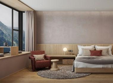 神仙居民宿酒店设计 | 太白梦游处,居住苍烟落照间
