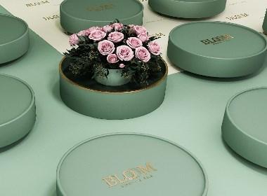 鲜花也可以像邮票那样收集了? 应力设计 x 花之集品牌形象设计