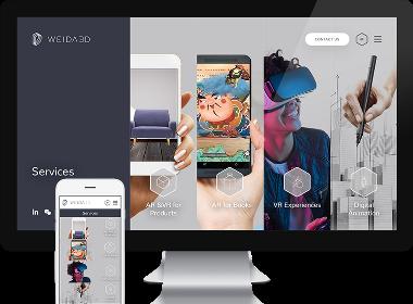 Flow Asia为Weida 3D提供VI设计与网站开发
