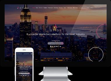Flow Asia为Atlas 网站提供网站建设服务