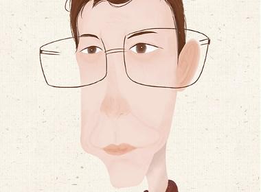 人物肖像插画