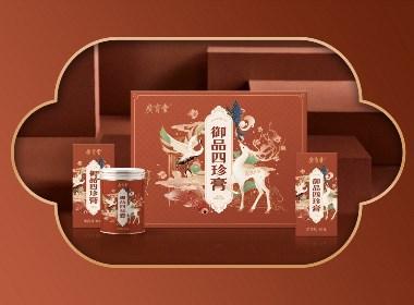 廣育堂四珍膏×尚智 | 食品/快消品包裝設計/品牌設計/插畫