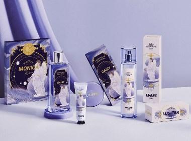 LUSIFER美妝×尚智 | 化妝品包裝設計/品牌設計/插畫