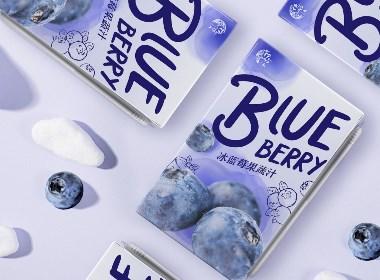 伊山伊水藍莓×尚智 | 食品/快消品包裝設計/品牌設計