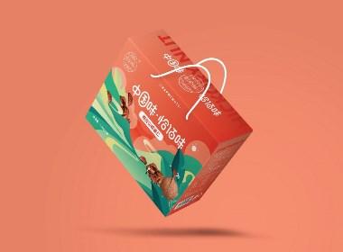 恰佰味山核桃×尚智 | 食品/快消品包裝設計/品牌設計/插畫設計