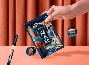 晟輝海毛肚×尚智 | 食品/快消品包裝設計/品牌設計/插畫
