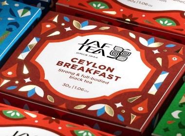 斯里兰卡最大的茶品牌包装设计