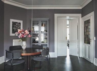 运用灰色元素打造超美丽的家,哥本哈根的浪漫艺术家居!
