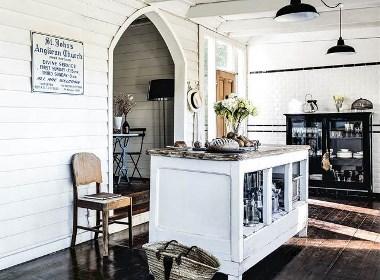 将教堂完美改造,与神共洗涤心灵感受国外的旧房改造!