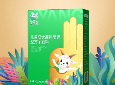 草木羊羊奶粉品牌包裝設計|厚啟設計