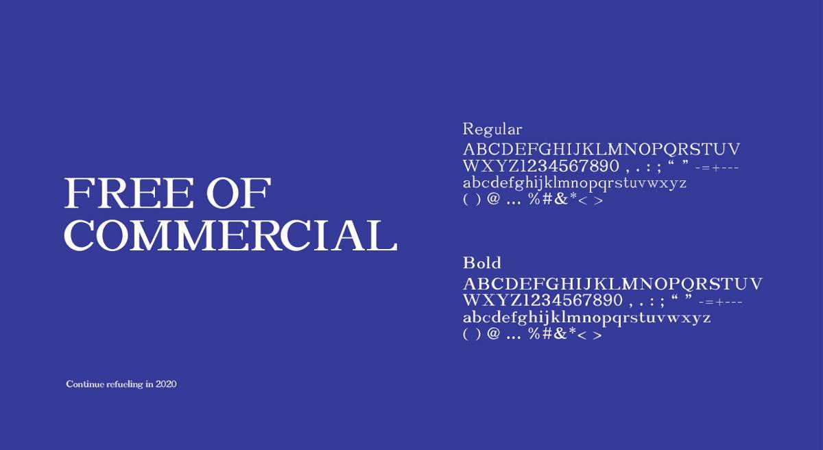 免费商用英文字库×凌旬 | Lingxun-serif