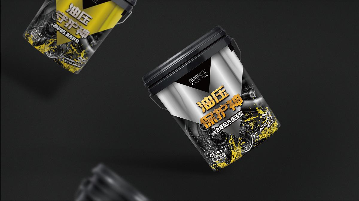 润滑油包装设计/东特/产品包装创意/观复作品