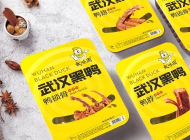 武味周 武漢黑鴨休閑食品包裝設計