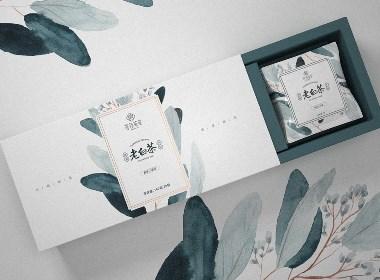 福鼎白茶 茶叶包装设计 · 茗芯 | 刘益铭原创作品