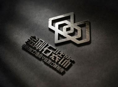 西安logo设计案例:装饰公司logo设计提案--唐顿设计