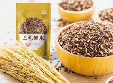五谷齋農產品米包裝設計|摩尼視覺原創