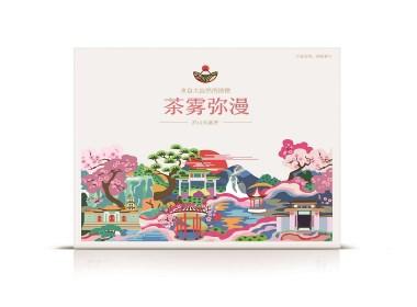 九江庐山茶雾弥漫包装设计