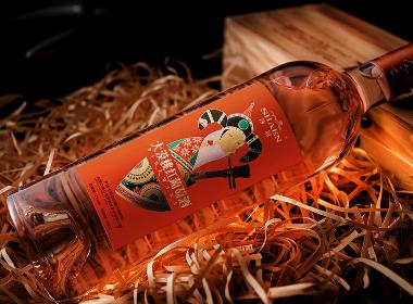 品牌紅酒包裝創意設計