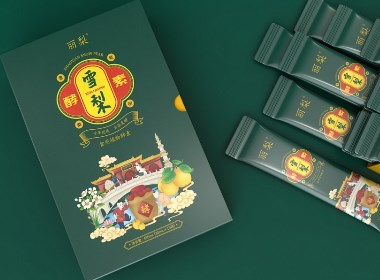 趙縣雪梨酵素包裝設計|瑞智博誠品牌設計
