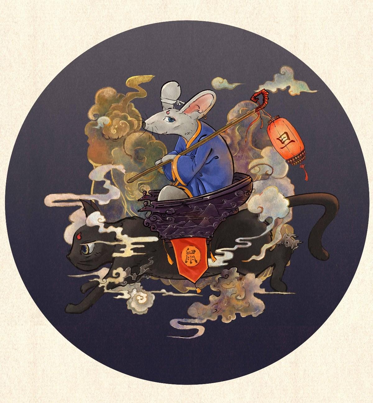 超级无敌巨好看的中国风插画(一)