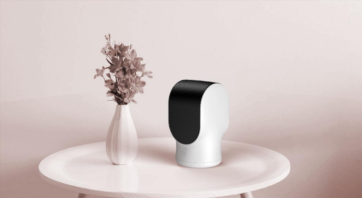 黑桃设计-桌面暖风机 , ' 芽 '