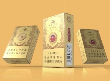 LOUTS|莲花吉祥香烟包装设计