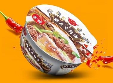 方便面食品包装设计