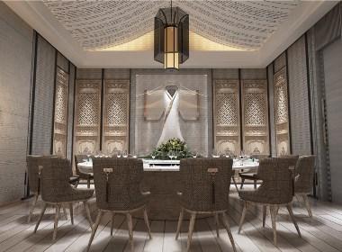 鱼骨设计——某婚礼产业园区宴会餐厅