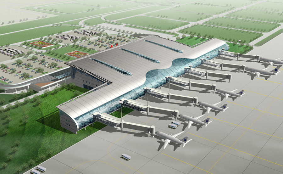 机场.航站楼设计案例效果图