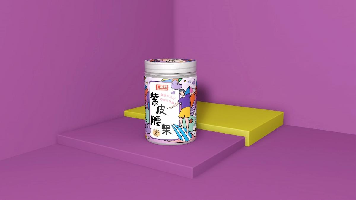 仁滋佳坚果-品牌包装设计