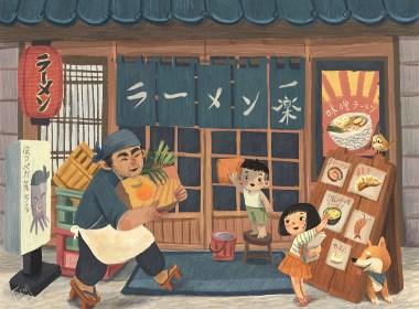 插画师Lenny Wen的多系列创意插画设计