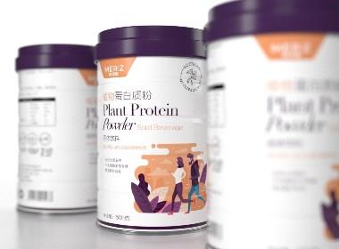 蛋白質粉 固體飲料 · 美姿春 | 劉益銘 領秀 原創作品