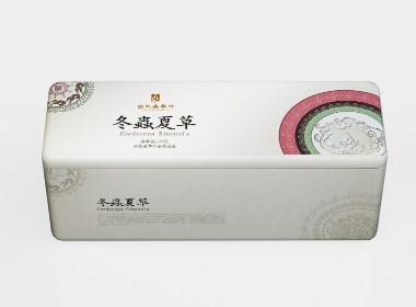 蟲草粉形象包裝設計