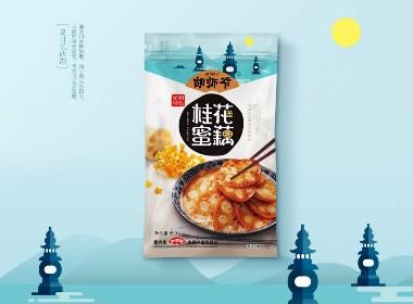 江南美食胡師爺包裝設計