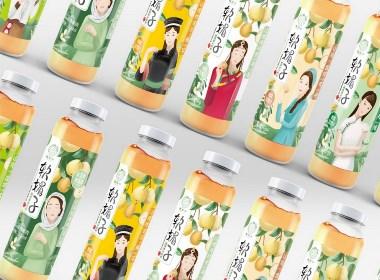 軟媚子果汁飲料、果味酒、果凍包裝設計
