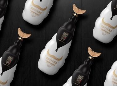 牦牛奶酒包装设计