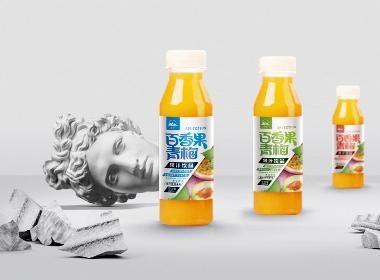 百香果青梅果汁饮品