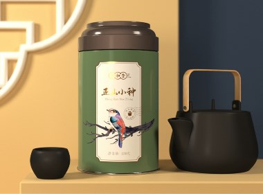 祁门红茶金骏眉正山小种罐装设计 · 沐和堂 | 刘益铭 原创作品