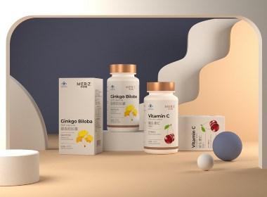 保健品包装设计 品牌设计   刘益铭 原创作品