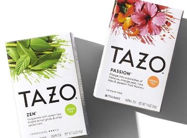 Tazo品牌更新比一杯清茶更令人耳目一新