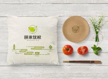 颐米优粮品牌设计