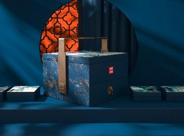晨狮原创设计丨云尚古茶礼盒包装设计